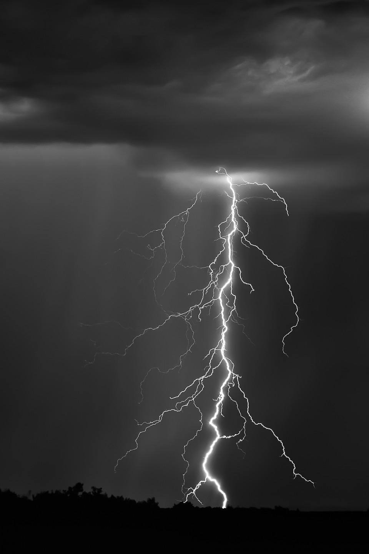 Lightning on the 89A - Sedona, Arizona