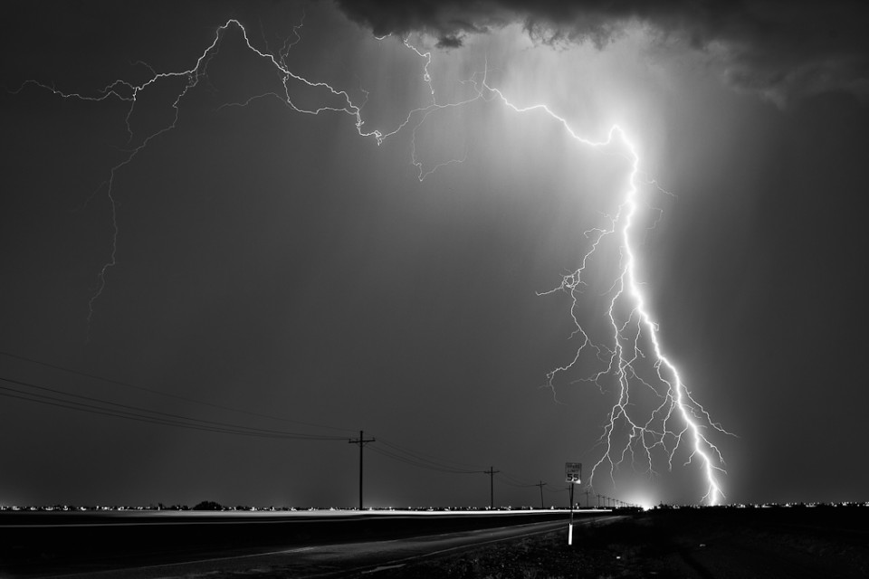 Speed Limit 55 - Arizona Monsoon Lightning