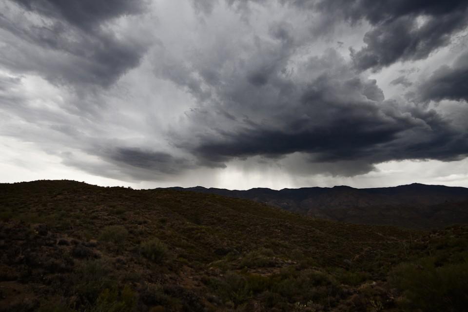 Storms on the Bradshaws - Arizona Monsoons