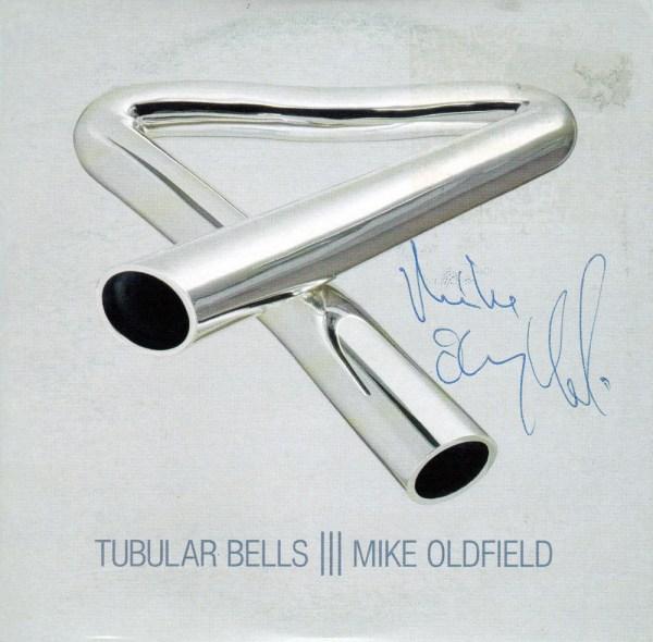 Signed Tubular Bells III promo