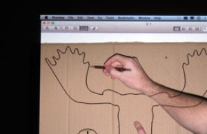 How to make your own Cardboard Box Moose Head Wall Hanging