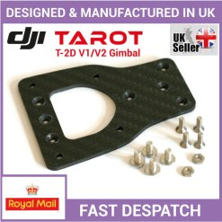 How to install a Carbon Fiber Adapter Mounting Plate for a Tarot T-2D gimbal on DJI Phantom 2