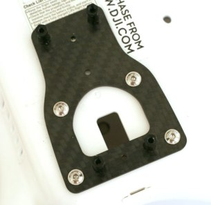 How to install the Carbon Fiber Mount Plate for a Tarot T-2D brushless Gimbal on a DJI Phantom 2