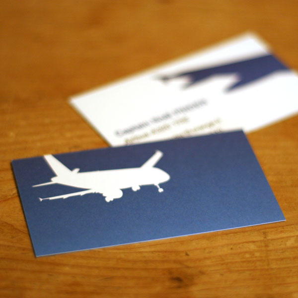 Airbus A320 Business Cards