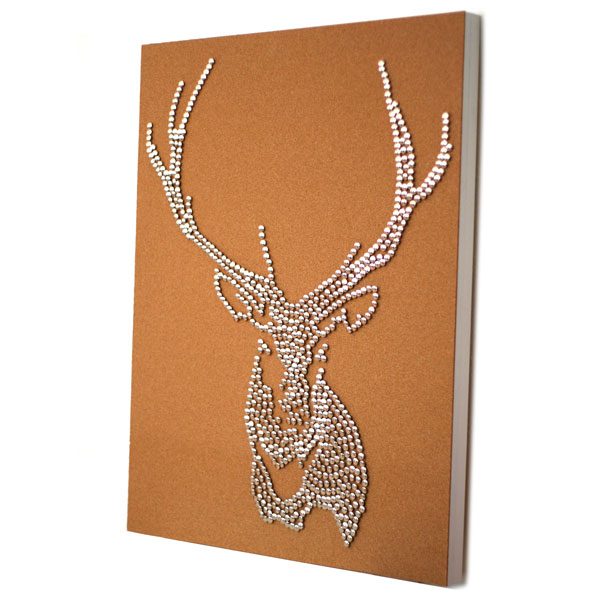 Drawing Pin Stag Deer