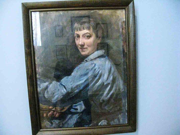 Self portrait of Zinaida Serebriakova, 1946, State Russian Museum in St Petersburg,