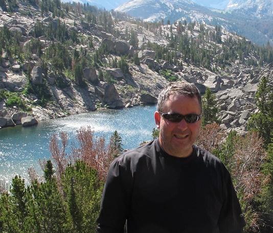 Andy at Clear lake