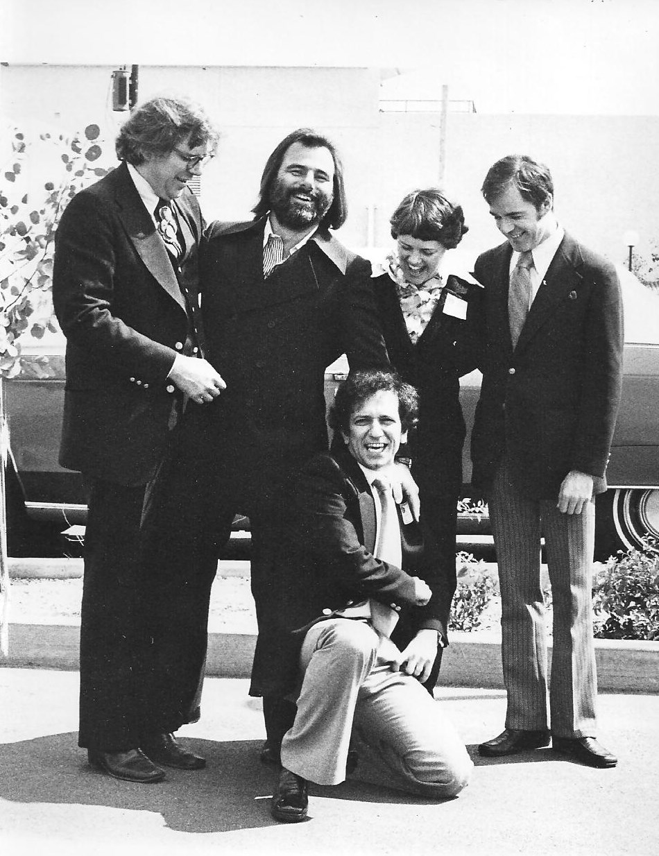Here Jentzsch, Milton Katselas, Yvonne Gillham-Jentzsch, Bobby Lyons and Pat Gualtieri