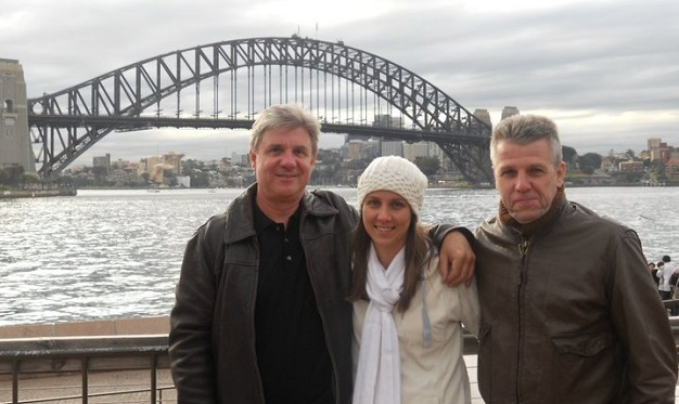 Haydn with Christie and me in Sydney 2010