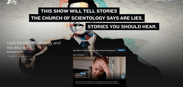 Sexual predator documentary on scientology
