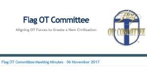 Flag OTC Minutes & LRH Aftermath