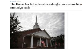 Danger Lurks in Tax Bill