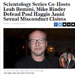 "The Scientology ""Debunked Conspiracy Theory"" Response"