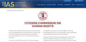 CCHR Not Supported by IAS?