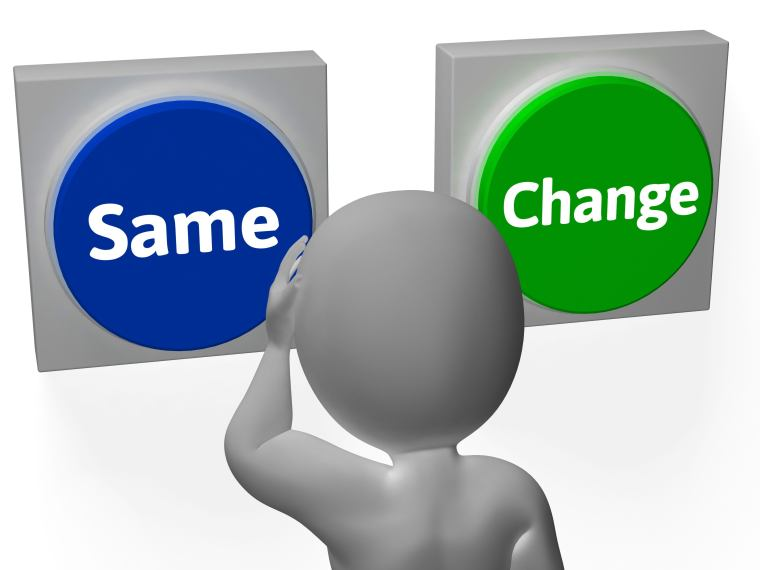 Change or Not? Reorganization Rethink - Mike Russell