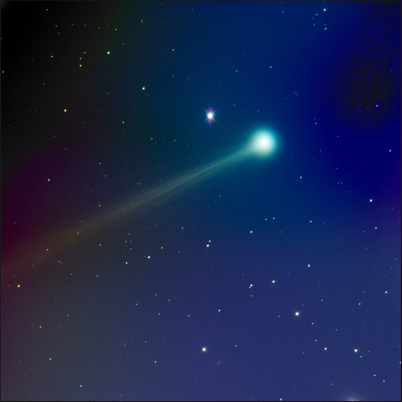 Comet ISON Suddenly Brightens as it Dives Toward the Sun