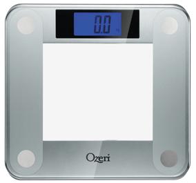 Review Ozeri Precision Ii Digital Bathroom Scale