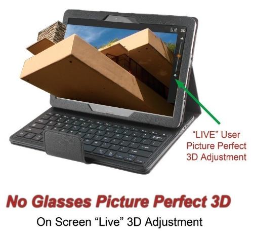 """Rembrandt3D No Glasses 3DTV, """"Fallingwater House Tour Special Edition"""" (PRNewsFoto/Rembrandt 3D)"""