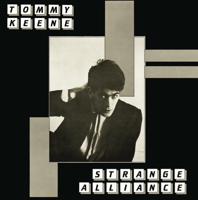 """Tommy Keene """"Strange Alliance"""" LP (12XU 051-1)"""