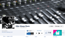 "Facebook Page ""Like"" ButtonHovering over ""Like"" button reveals notification options"