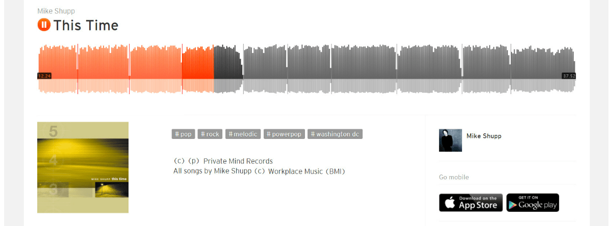 "Mike Shupp ""This Time"" Digital Album — Free Download"