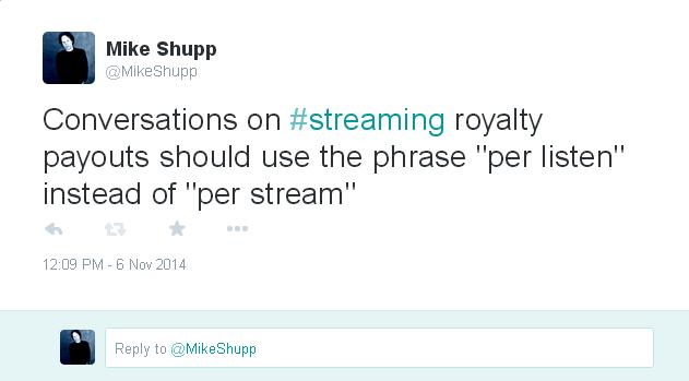 """Per Listen"" Instead of ""Per Stream"""