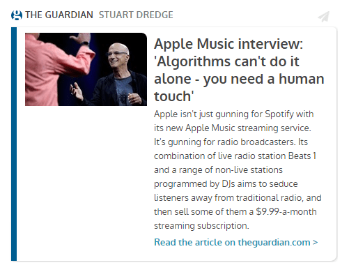 Guardian Interview with Jimmy Iovine and Eddy Cue After Apple Music Announcement