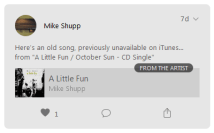 """A Little Fun"" on Apple Music Connect"