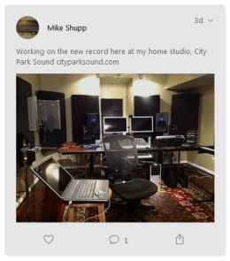 Home studio City Park Sound