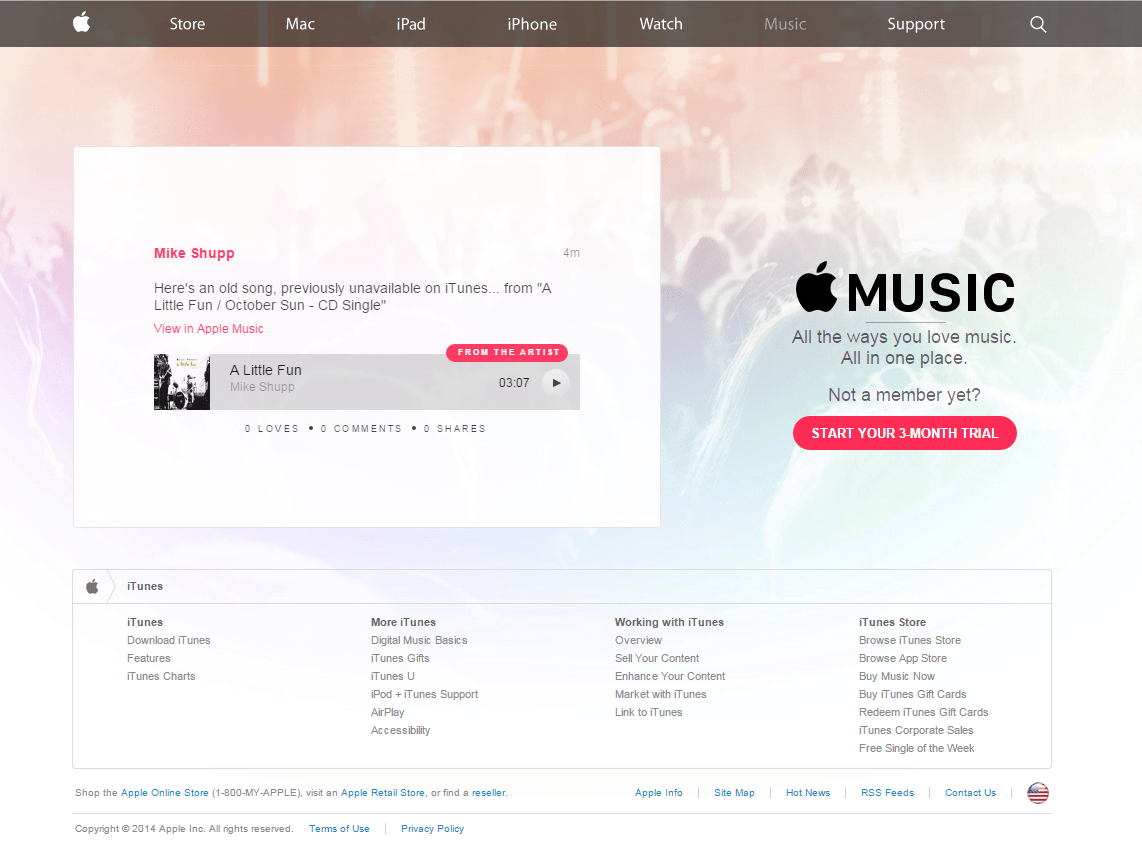 Getting Started with Apple Music Connect