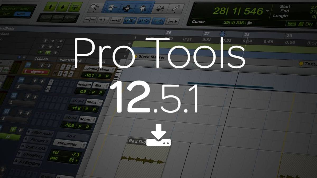 Avid Pro Tools® 12.5.1 Now Available