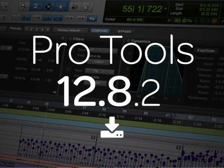 Avid Pro Tools® | Software 12.8.2 Now Available