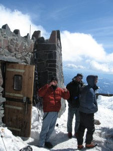 Hanging out at Camp Muir