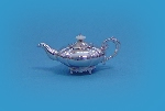Miniature Silver Gallery 2 - Fluted Melon Shaped Tea Set c.1840