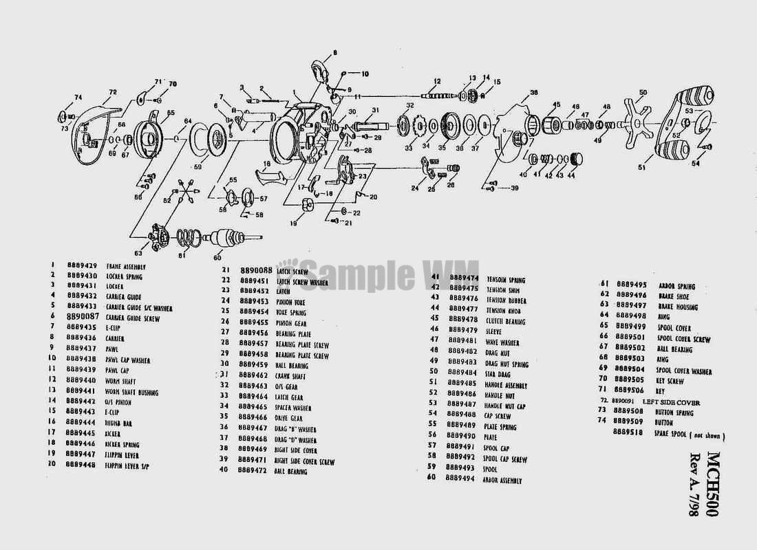 Mitchell Reel Parts Diagram Wiring Services Schematics 300 Auto Electrical U2022 Rh Wiringdiagramcenter Today