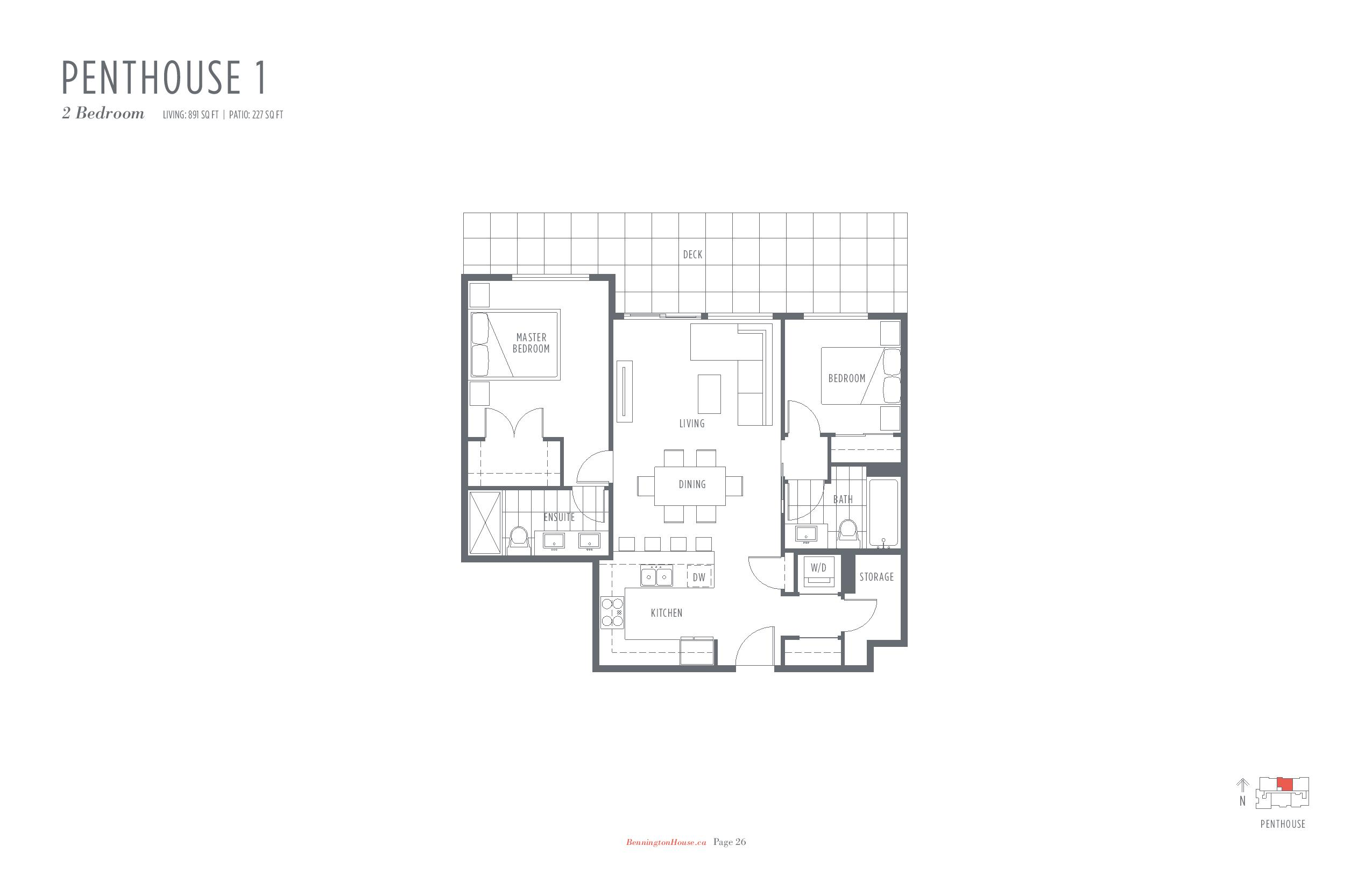 bennington house presale condos