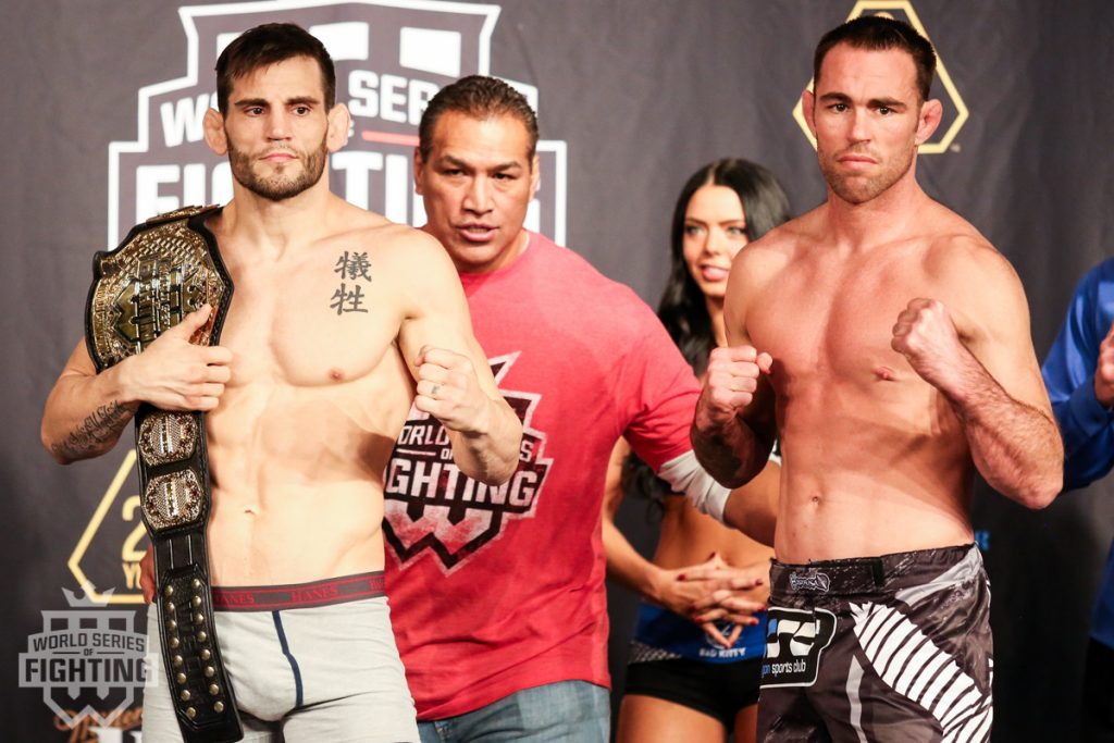 WSOF NYC weigh-in results