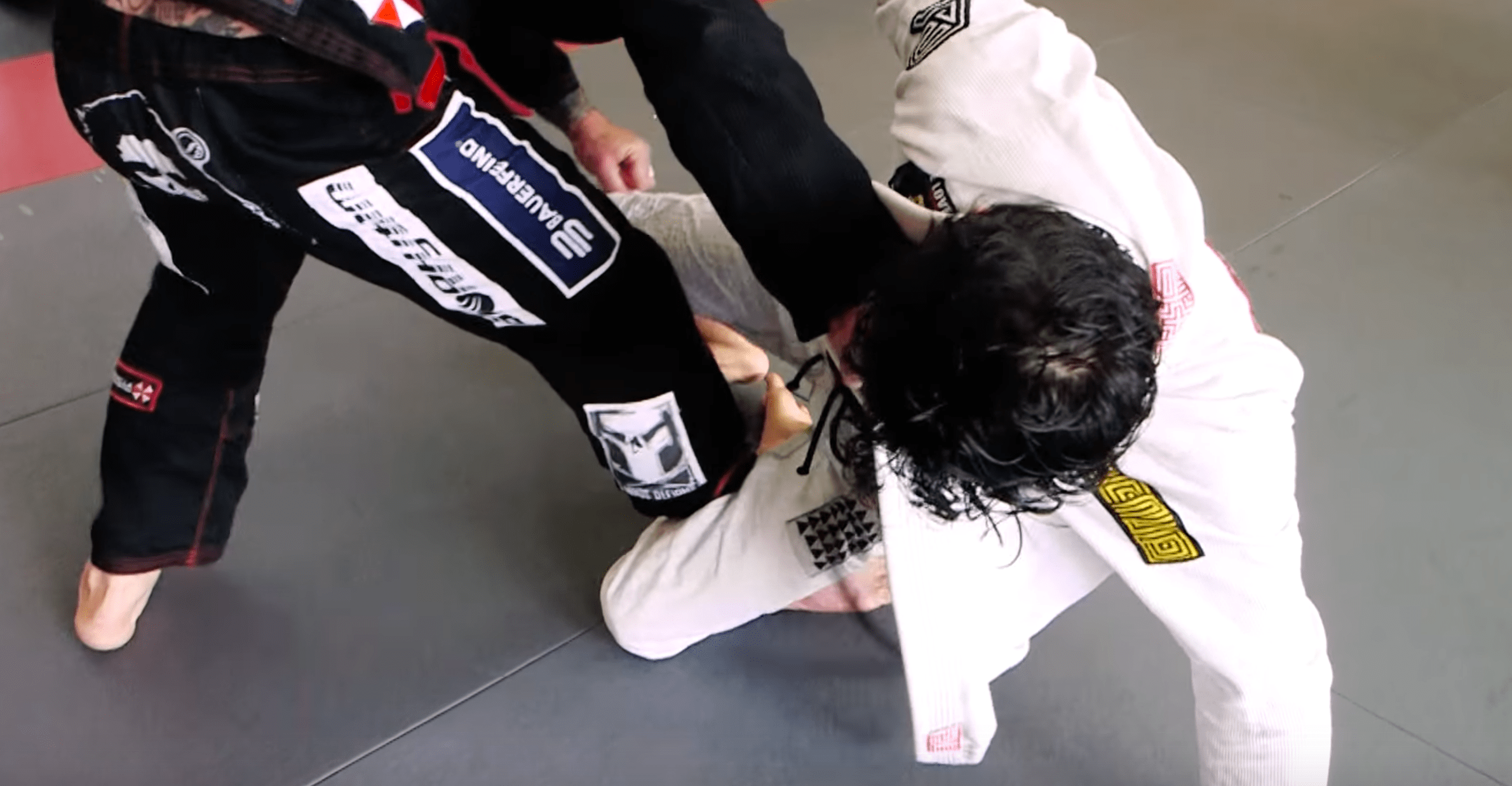 Open Guard Sweep