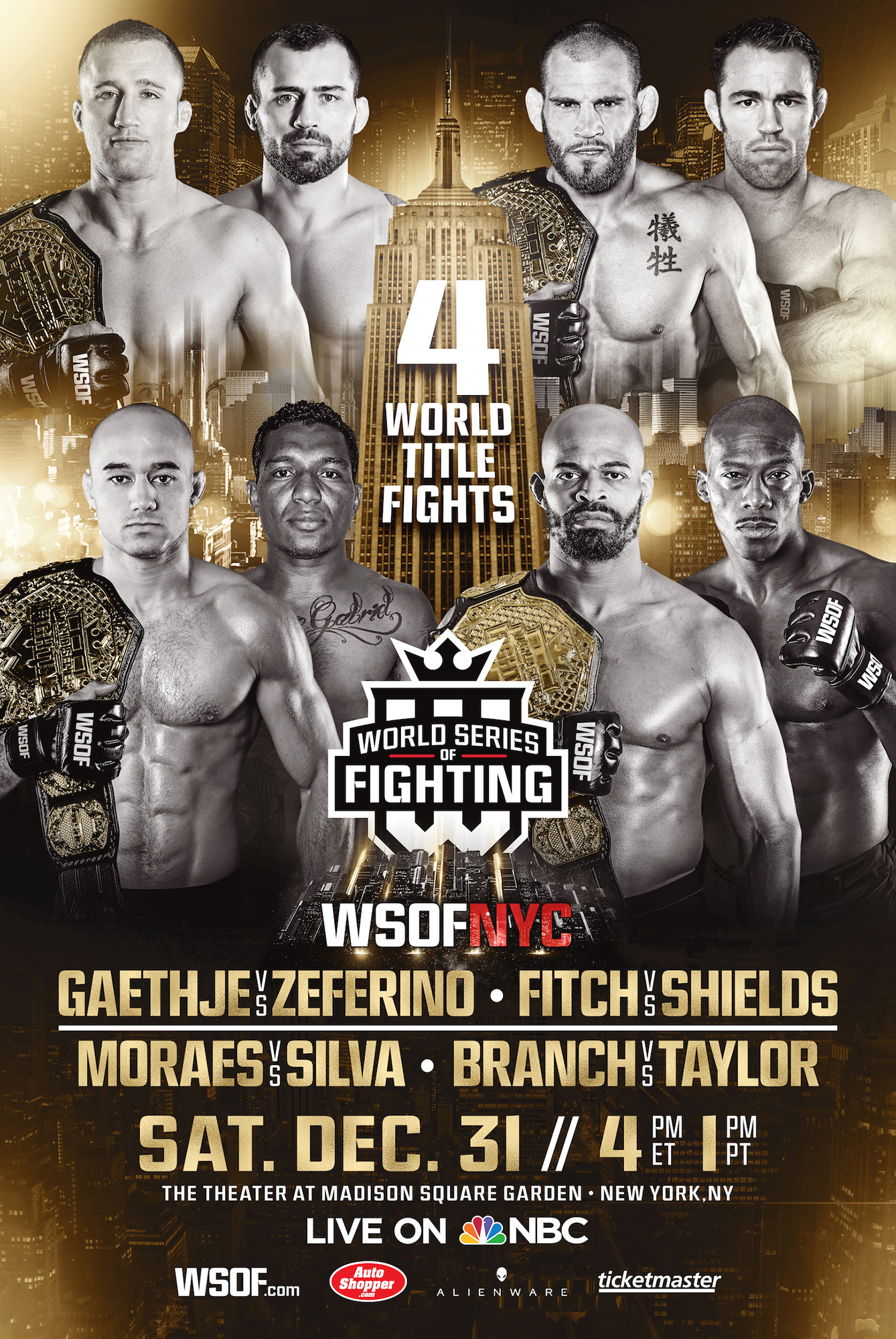 WSOF NYC Live Play by Play