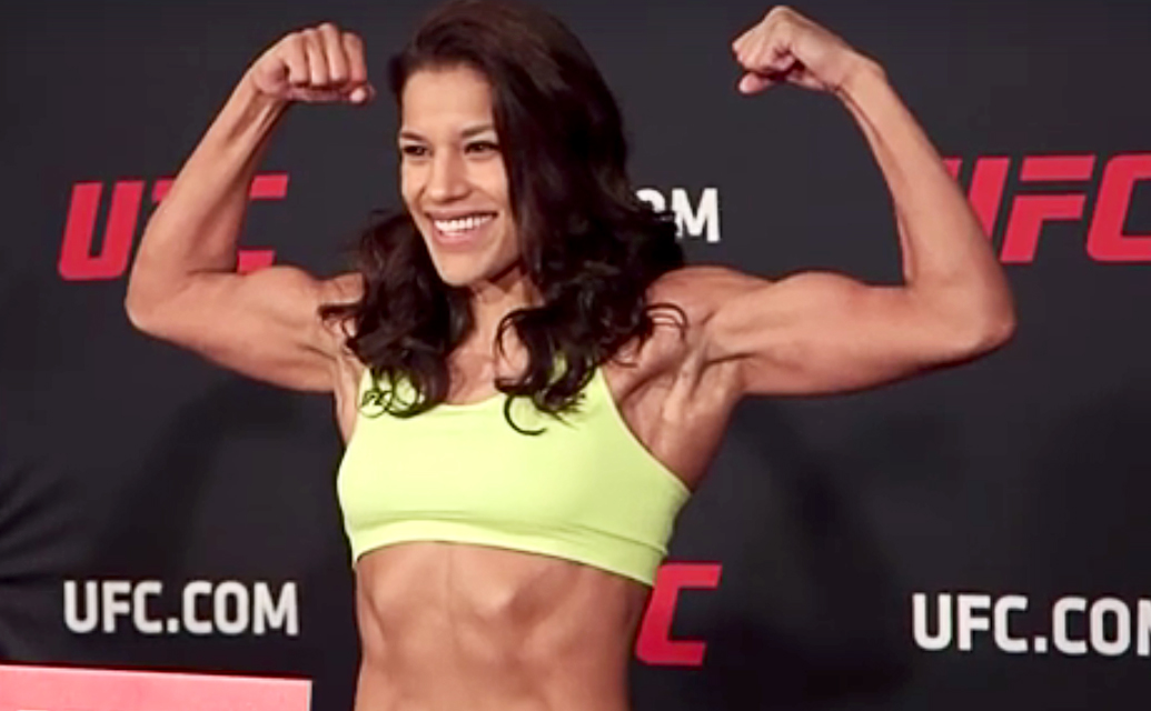 UFC Fight Night: Denver, weigh-ins. Pena vs Shevchenko. All but one, make weight.