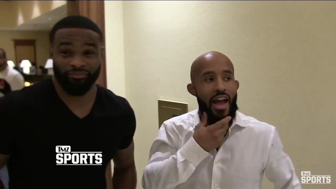 Tyron Woodley and Demetrious Johnson talk Ronda