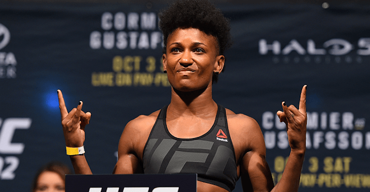 angela hill jessica andrade ufc fight night 104