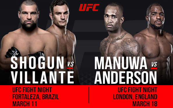Finally more fights announced in the UFC light heavyweight division
