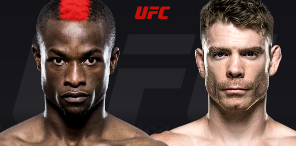 There's a healthy little rivalry brewing between Paul Felder and Marc Diakiese.