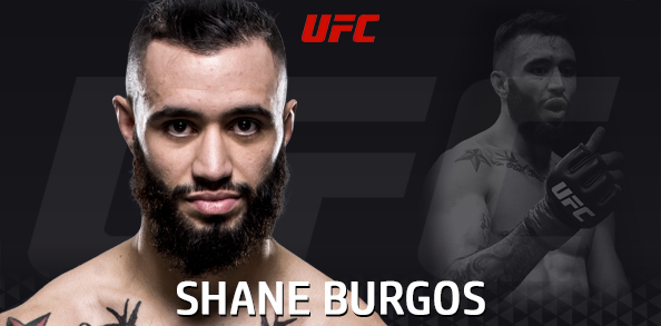 Shane Burgos signed to fight in Uniondale, NY for UFC on FOX 25