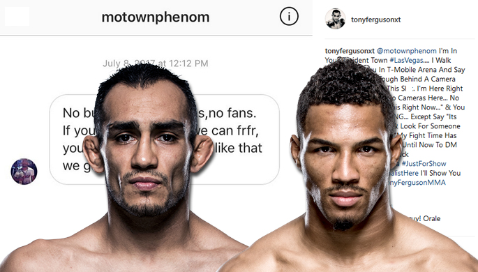 Put on blast! Tony Ferguson digs in to Kevin Lee on IG and Lee fires back.