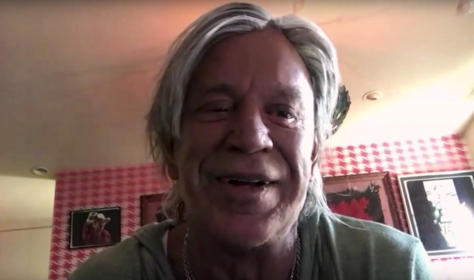 At 64 years young, Mickey Rourke wants 2 more boxing matches