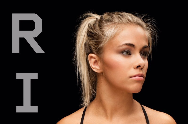 Paige VanZant shares the cover of her new book coming out, called 'Rise'.