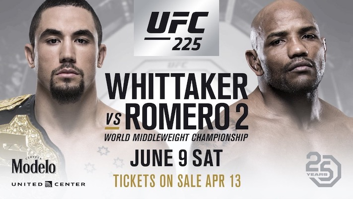 ufc 225 Event Results