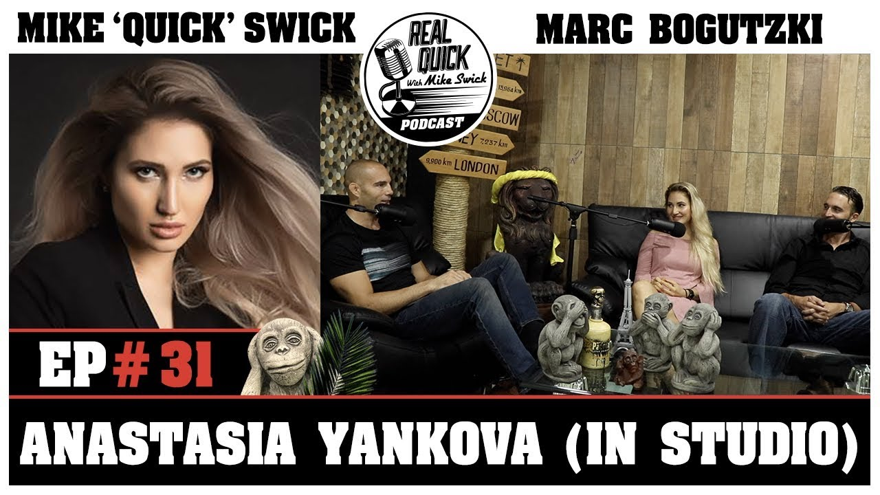 RQMS EP 31: Anastasia Yankova in studio. Talks future and MMA news